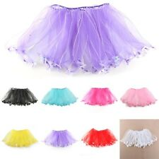 Stylish Girl Baby child princess Pettiskirt ballet dance Tutu dresses skirt