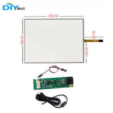 17inch 4 Wire Resistive Touch Screen Panel USB Touchscreen Controller Driver