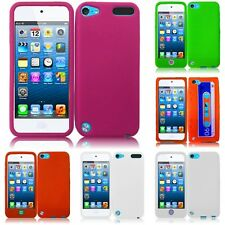 For Apple iPod Touch 5th 6th Gen Silicone Skin Soft Rubber Case Phone Cover