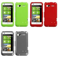 For HTC Radar 4G / Omega Rigid Plastic Hard Snap-On Case Phone Cover
