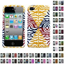 For Apple iPhone 4/4S Design Snap-On Hard Case Phone Cover