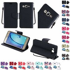 For Samsung Galaxy On5 Wallet Case Pouch With ID Card Pocket Slots