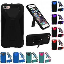 For Apple iPhone 7 Plus Hard Soft Rugged Slim-Grip Case Phone Skin Cover