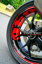 Ducati Streetfighter 848 1098 1198 S Naked Bike Wheels decor Stickers for Rims