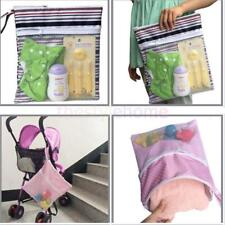 Waterproof Wet Dry Tote Handbag Mummy Cloth Diaper Nappy Cosmetic Swimwear Bag