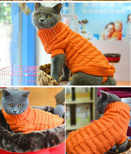 XXS/XS/S/M Dog Sweater Cat Sweater Pet Clothing Puppy Clothes Soft Pajamas