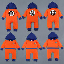 Dragon Ball Z Baby Rompers Newborn Baby Boy Clothes Boy Girl Clothing Toddler