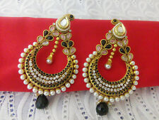 Ethnic Indian Jewelry Bollywood Earring Gold Plated Traditional New Earring