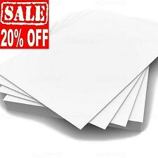 A4 WHITE CARD WEDDING INSERTS BLANKS CRAFT DECOUPAGE STOCK PAPER PRINTER 300gsm