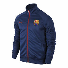 NIKE FC BARCELONA CORE TRAINER JACKET Loyal Blue/Storm Red