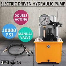 ELECTRIC DRIVEN HYDRAULIC PUMP 10000PSI REMOTE CONTROLLED MANUAL VALVE UPDATED