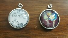 Alice in Wonderland inspired cameo necklaces