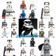 Star Wars Rogue one Storm Clone trooper Custom Fit Lego Building Toy Minifiguers