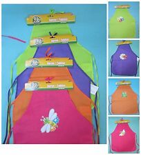 NWT Backyard Travels Bumble Bee/Lady Bug/Frog/Dragonfly Kids Apron