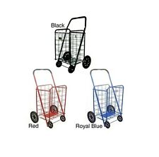 Extra Large Heavy-duty Shopping Cart Easy to Assemble and Folds Flat for Storage