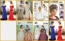 OOP Butterick Sewing Pattern Misses Victorian Renaissance Costume Gown You Pick