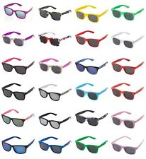 Childrens Kids Classic Style Sunglasses in Black Pink Blue White Purple Spotty
