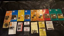 Ho Scale,Kadee's,Others, Huge Lot Of High Quality Wheels/Trucks/Etc, C8 Cond