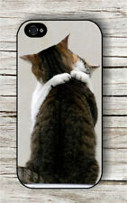 CAT LOVE IN THE AIR EMBRACE COUPLE CASE FOR iPHONE 4 , 5 , 5c , 6 -gyd9X