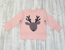 Baby Girl Pink Sweatshirt Infant Baby Boy Blue Clothes Toddler Pullover