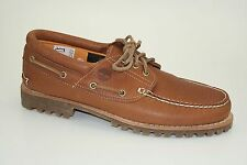 Timberland HERITAGE 3-Eye Lug Moccasins Claypot Men's Shoes Lace-up A14N9