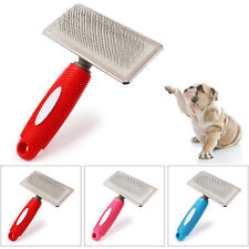 Pet Dog Cat Grooming Self Cleaning Slicker Gilling Brush Comb Shedding Tool
