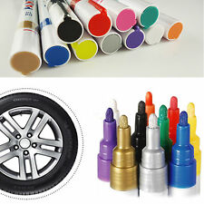Colorful Waterproof Tyre Tire Paint Pen Tread Trim Marker Pen for Car Motorcycle