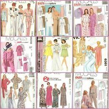 OOP McCalls Sewing Pattern Misses Sleepwear Lingerie Large Plus Size You Pick