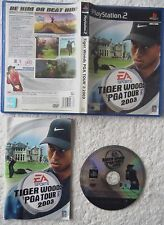 26770 Tiger Woods PGA Tour 2003 - Sony Playstation 2 Game (2002) SLES 51282