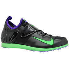 new-nike-zoom-pv-ii-2-mens-track-field-spikes-pole-vault-shoes-black-green