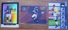 Ryan Moats = 05 Rookie = 3 RARE RCs! Topps Chrome Black Refractor, UD Gold, + #d