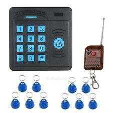 Electronic 125KHz RFID Proximity Card Entry Door Lock Access Control System