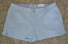 NWT-Juniors Girls SO Blue Striped Tab Summer Cotton Shorts-sz 3, 7, 9, 11 & 13