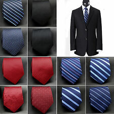 R Men's Woven Silk business Fashion Necktie Wedding Classic Tie Party Jacquard