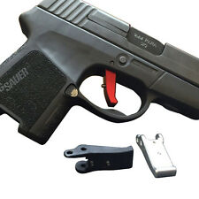 Antioch Flat Faced Trigger for Sig Sauer P290RS Pistols by Galloway Precision