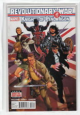 REVOLUTIONARY WAR KNIGHTS OF PENDRAGON (2013 MARVEL COMICS) #3 NM-