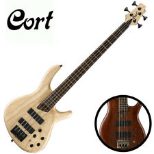 Cort B4 Plus Artisan 4 String Electric Bass Active Passive Bartolini MK-1 MB-1
