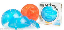 Mini exercise ball 12.5 cm mouse dwarf hamster Zorb'n'Orb play toy cage