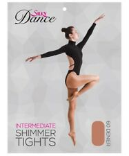 Silky Childrens Girls Full Foot Shimmer Dance Ballet Tights