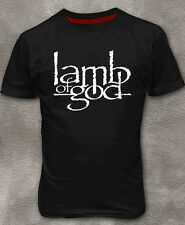 Lamb of God Men's T-shirt Heavy Metal Cotton Black Tee Shirt M - 3XL
