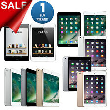 New Apple iPad mini 1,2,3 or 4 16GB/32GB/64GB/128GB Wi-Fi Tablet 1-Year Warranty