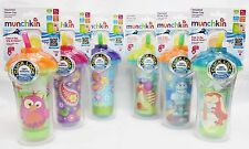 New!! Munchkin Click Lock Insulated Straw Cup, 9 Ounce Free Shipping