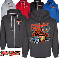 Hotrod 58 American Speed Ratrod Custom Vintage Classic Car Hoodie zip Jacket 198