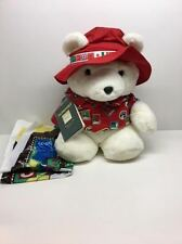 1993 Santabear Dayton Hudson Marshall Fields World Traveler Santa Bear Passport