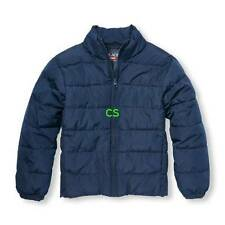 NWT-Boys The Childrens Place Blue Puffer Winter Snow Jacket-size 7/8, 10/12 & 14