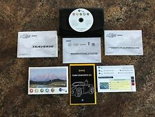 2010 Chevrolet Traverse Owners Manual w/ Navigation Manual & Case w/ More - #A1