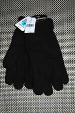 PORTOLANO MENS 100% CASHMERE GLOVES BLACK SIZES SMALL MED. LG. XL RP $125.00 NWT
