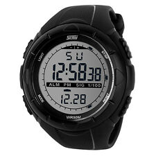 skmei fashion luminous chronograph stopwatch sport waterproof digital men watch