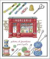 Kit broderie point de croix imprimé/compté ,11CT/14CT,Cross Stitch Mercerie