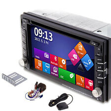 "Double2Din Car Stereo DVD Player BT ipod GPS Radio 3G 6.2"" Touchscreen Freeship"